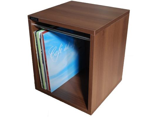 Sefour Vinyl Record Carry Box 60 Tobacco Walnut (VC030-909)