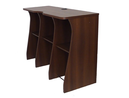 Sefour X30 Tobacco Walnut Console Stand