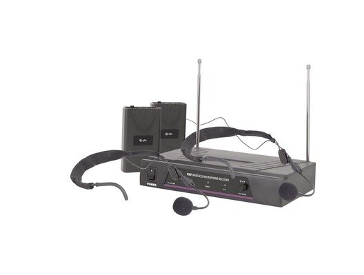 QTX Sound VN2 VHF Dual Neckband Microphone System