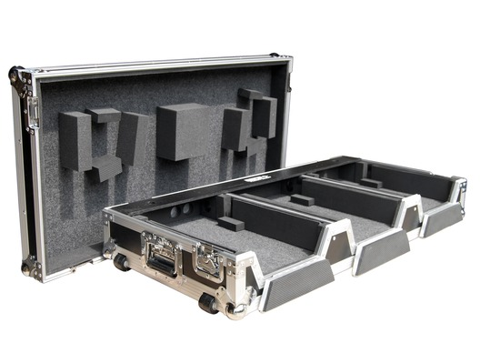 "Total Impact Coffin Flight Case For CDJ2000 / 12.5"" Mixer"