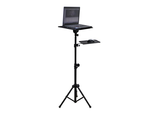 Adjustable Tripod Laptop / Projector Stand with Mouse Shelf