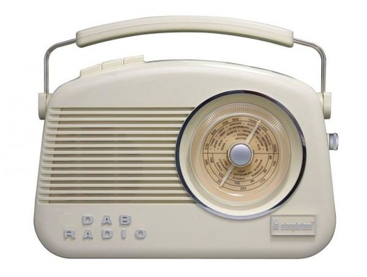 Steepletone Dorset Cream DAB FM/AM Radio