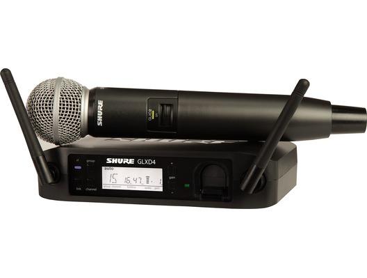 Shure GLXD24/SM58 Digital Wireless Vocal System