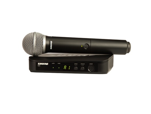 Shure BLX24UK/PG58 Handheld Wireless Vocal System