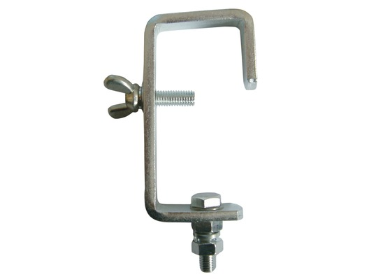 Heavy Duty G Clamp For 50mm Poles Silver