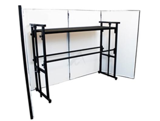 Gorilla DJB100 Complete DJ Booth Stand System