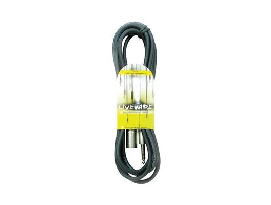 Livewire 6.35 mm Stereo Jack Plug - Male XLR