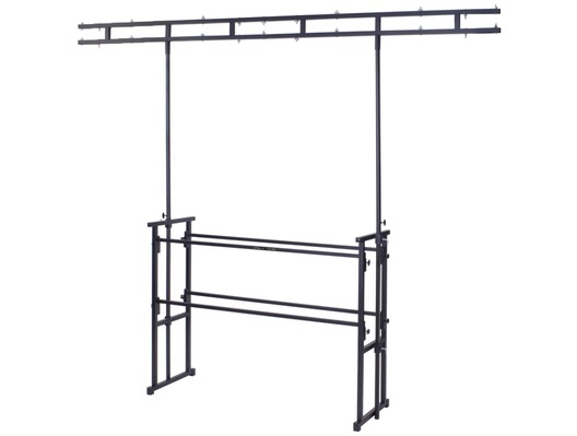 Gorilla GDS-5 Twin Bar 4ft Disco Stand