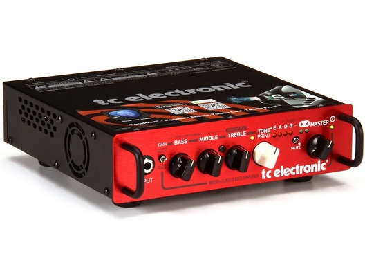 tc electronic bh250 250 watt bass amplifier head red whybuynew. Black Bedroom Furniture Sets. Home Design Ideas