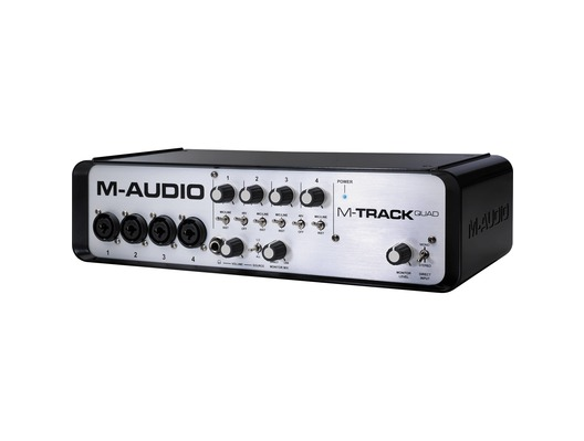 M-Audio M-Track Quad Audio MIDI USB Interface