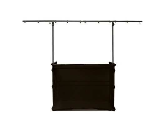 Gorilla GDS 4ft Disco Stand inc Scrim Booth Kit