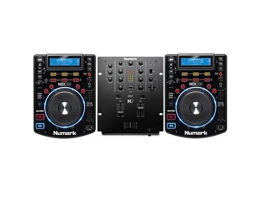 Numark NDX500 & Numark M2 Mixer Package