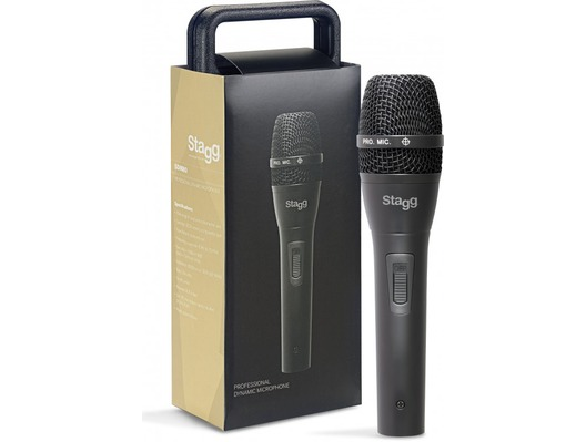 Stagg SDM80 Metal Switch Dynamic Handheld Vocal Microphone