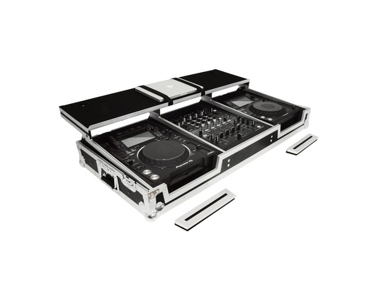 Gorilla Pioneer CDJ / DJM Workstation Coffin Case inc Shelf