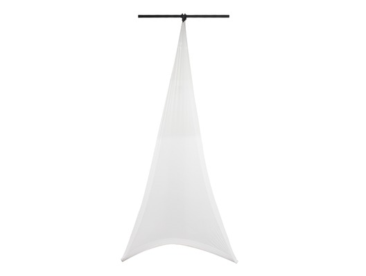 LEDJ Double Sided Lighting Stand Cover White