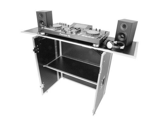 Gorilla DJS Foldable DJ Stand Booth Workstation