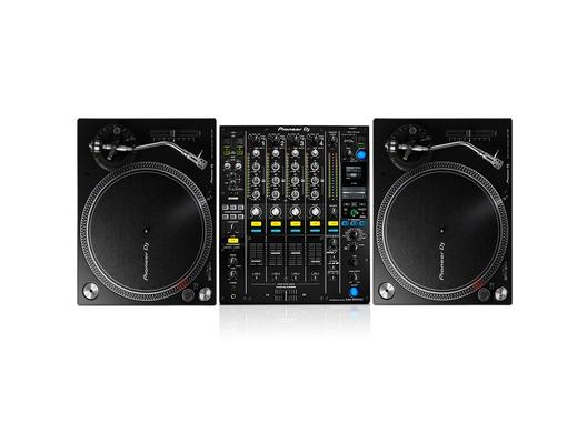 Pioneer PLX-500 & DJM900 NXS2 Turntable Package