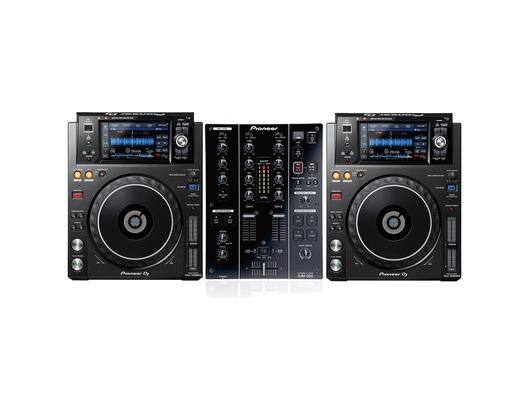 Pioneer XDJ-1000 MK2 & Pioneer DJM350