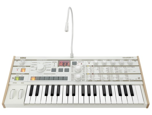 Korg MicroKORG S Synthesizer and Vocoder