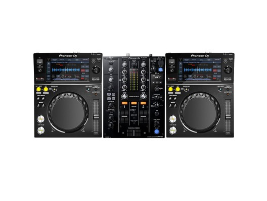 Pioneer XDJ-700 & DJM-450 Package