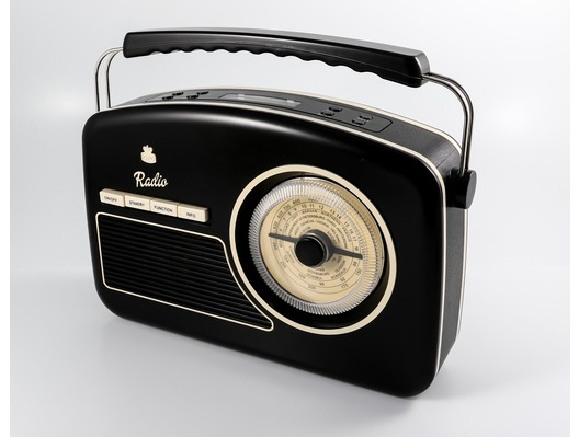 GPO Rydell Nostalgic DAB Radio Black