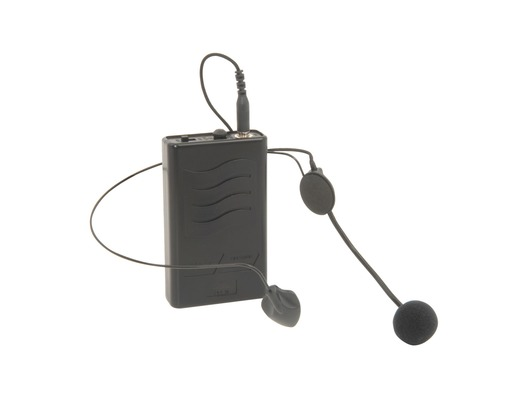 QTX Neckband Microphone and Beltpack Transmitter 175MHz