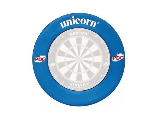 Unicorn PDC Dartboard Surround (Blue)