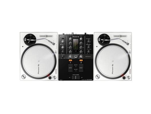 Pioneer PLX-500 White & DJM-250MK2 Package