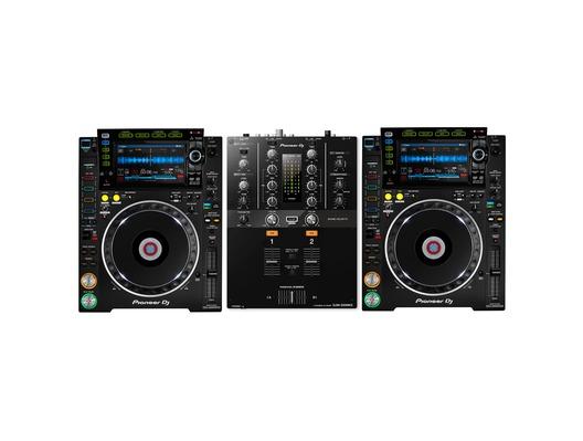 Pioneer CDJ-2000 NXS2 & DJM-250MK2 Package