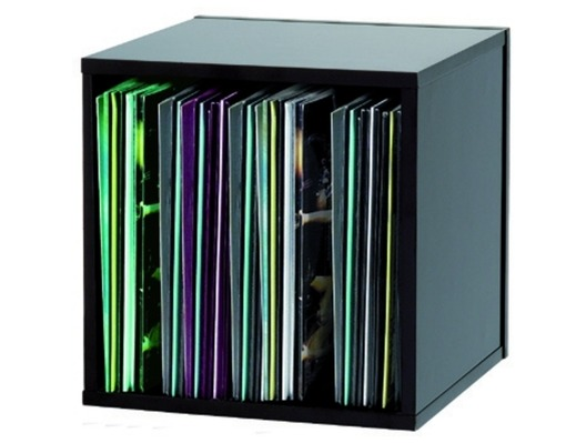 Glorious Black 110 DJ Record Box