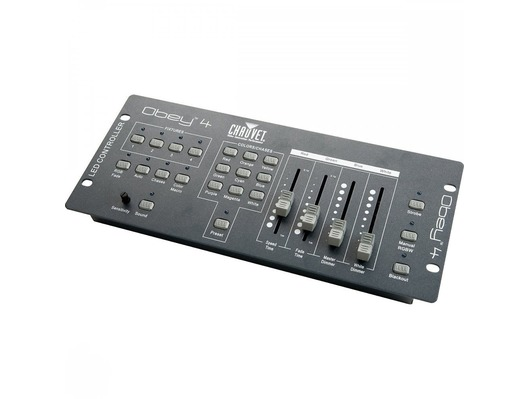 chauvet obey 4 compact lighting controller whybuynew. Black Bedroom Furniture Sets. Home Design Ideas