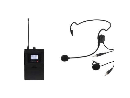 W Audio RM 30BP UHF Beltpack Add On Package (863.1Mhz)