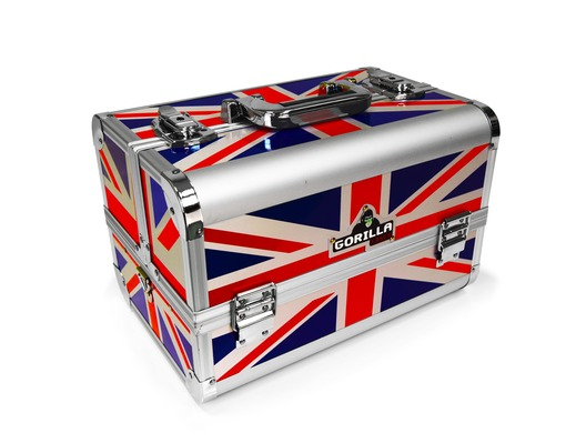Gorilla Musician Tech Carry Case inc Strap & Handle (Union Jack)