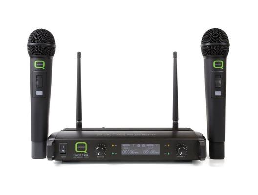 Q-Audio QWM 1932 V2 HH Dual Microphone System