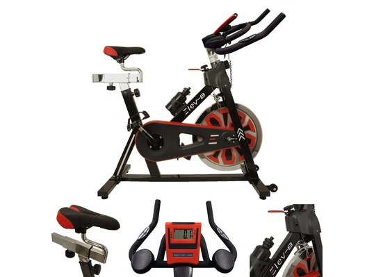 Esprit ELEV-8 Spin Bike BLACK/RED