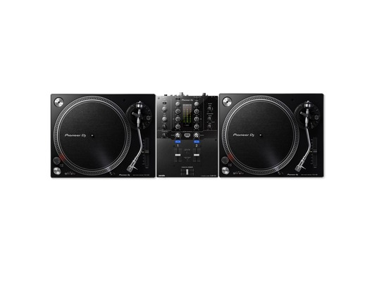 Pioneer DJ PLX-500 Turntable & DJM-S3 Package