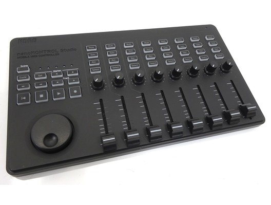 korg nanokontrol studio midi controller whybuynew. Black Bedroom Furniture Sets. Home Design Ideas