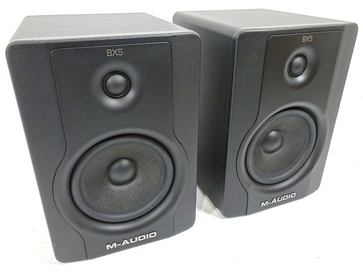 m audio bx5 d2 active studio monitor pair whybuynew. Black Bedroom Furniture Sets. Home Design Ideas