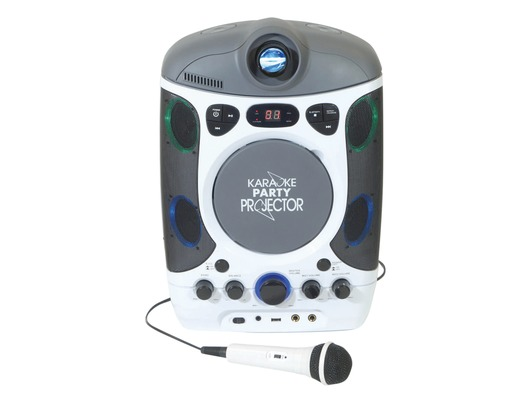 Mr Entertainer CDG Bluetooth Karaoke Player with LED Projector