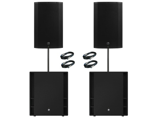 Mackie Thump 15A V4 Speakers (Pair) & Thump 18S Subwoofers (Pair)