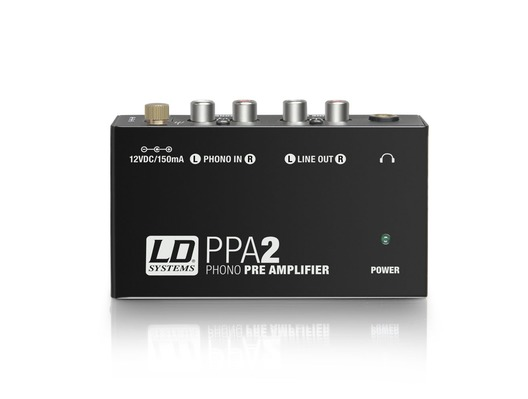 LD Systems PPA 2 Phono Preamplifier