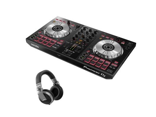 Pioneer DJ DDJ-SB3 & Pioneer HDJ-X5-S Package