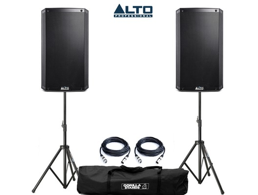 Alto TS312 with Stands & Cables
