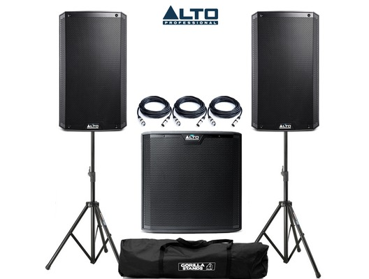 Alto TS315 & Alto TS215S Package