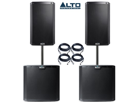 Alto TS315 (Pair) & Alto TS215S (Pair) Package