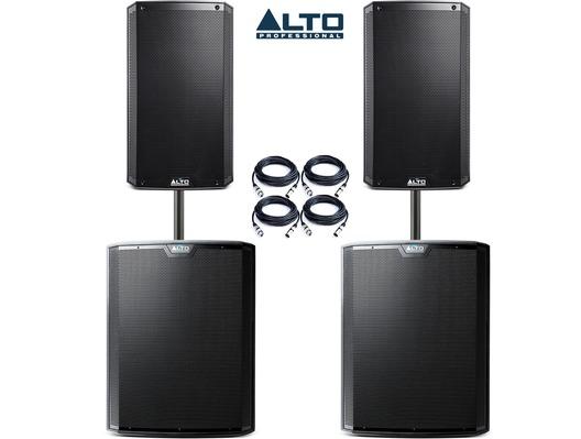 Alto TS315 (Pair) & Alto TS218S (Pair) Package