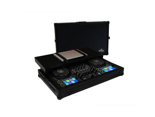 Gorilla Pioneer DDJ-1000 inc SRT Flight Case Workstation (Black)