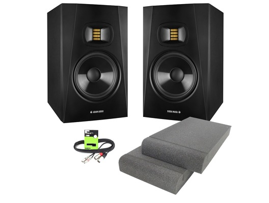 Adam Audio T7V with Isolation Pads & Cable