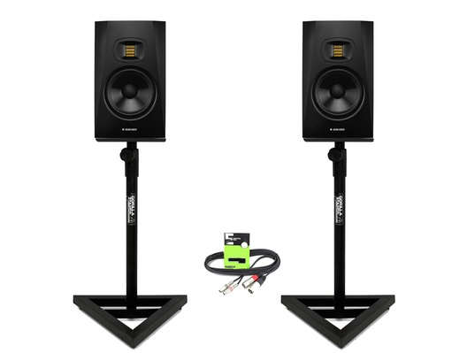 Adam Audio T7V with GSM-100 Stands & Cable
