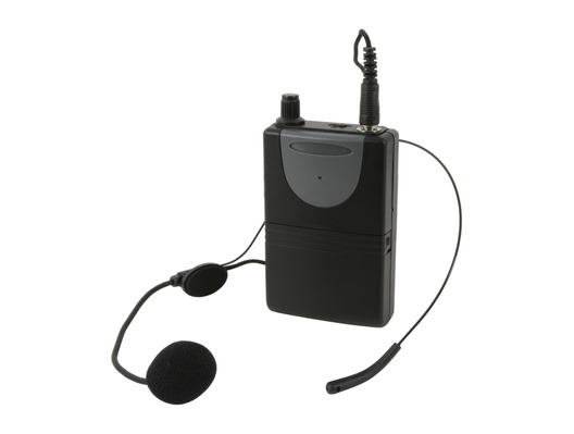 QTX Neckband Mic + Beltpack for QXPA-Plus and PAV8 863.8MHz